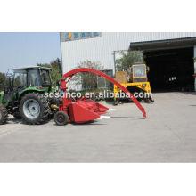 SAMTRA Königgrasernte angetrieben durch Traktor