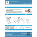 Hydraulic power pack for construction truck