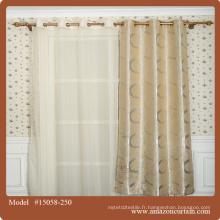 Rideau de style chinois Jacquard Design Rideau de porte décoratif Rideaux de fenêtre Cool Hangings