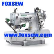 Máquina de coser de la impulsión directa Flatbed Interlock