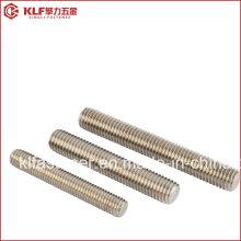 Boulon à vis en acier inoxydable B8 B8m / tige filetée DIN976 / DIN975