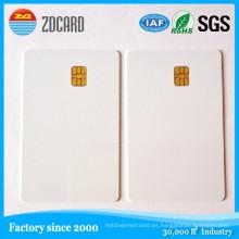 Tarjeta elegante en blanco del IC del regalo impreso PVC plástico del contacto
