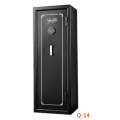 Digital safe deposit box,home safe box,safe locker with a drop slot on the top of the door