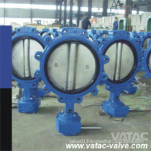 Cast Iron Body Ss Disc Soft Seat Lug Butterfly Valve