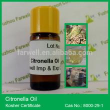 Farwell Natural Citronella Oil, citronella essential oil CAS#8000-29-1 (Pure natural plant extract essential oil)