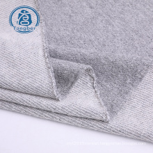 Wholesale china factory grey color CVC baby knitted cotton terry cloth fabric