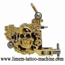 Luo's Machine máquina de tatuagem de cobre artesanal máquina de tatuagem