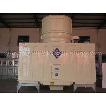 Torre de enfriamiento rectangular de flujo cruzado super bajo ruido serie JNT (JNT-150UL)