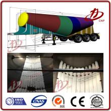 Tipo de tecido poliéster Airslide tubo pneumático mangueira deslizante de ar