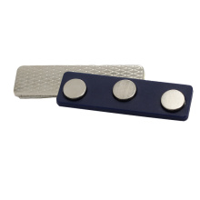 Magnetic Name Badge Blue Colored