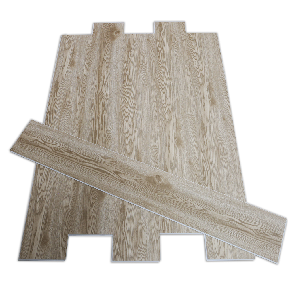 White Wood Grain SPC Flooring