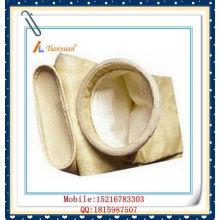 Sac de filtre en fibre de verre Sac de filtre à collecteur de poussière à haute résistance à la température