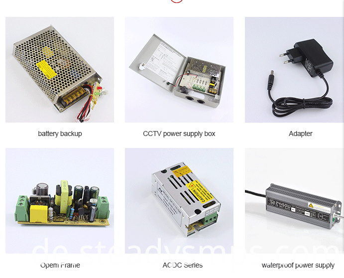 CCTV Cameras Power Supply Unit with UPS