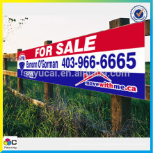 resistance UV waterproof Real Estate Signs banner