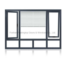 Ventaja de aluminio inclinable ventana de giro competitivo (FT-W135)