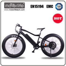MOTORLIFE/ 2017 wholesale fat tire electric bike 48v 1000w electric bike, e bicycle