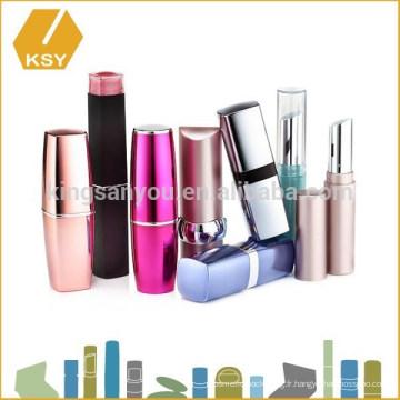 Emballage cosmétiques en plastique lèvre magique matte Faites votre propre rouge à lèvres