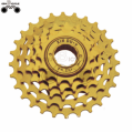 cheap 5speed golden color bicycle bike freewheel for sale