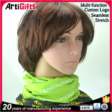 Newest style multifunctional seamless tube bandana headwear