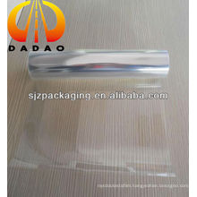 Glossy PET thermal lamination film