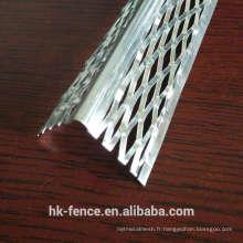Perles d'angle en acier inoxydable
