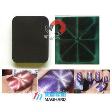 Magnetic Nail art Magnet Rounded Rectangle rice character art design
