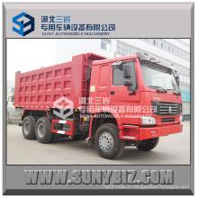 Rhd LHD 25t 336HP Camion à benne basculante Sinotruk HOWO