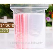 Ziplock Plastic Bags for Jewelry Gift Card Candy