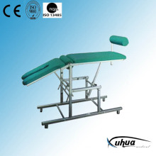 Stainless Steel Hospital Medical Gynecological Bed (H-3)