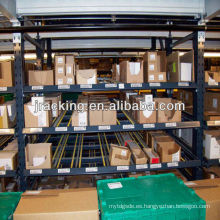 Los estantes industriales del balanceo, estantes del almacenamiento del baloncesto engranan el estante del flujo del cartón
