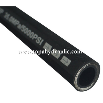 reinforced custom printed chemical hydraulic hose