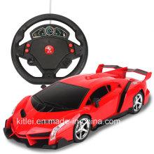 Coche eléctrico de vehículos de juguete de plástico de juguete fundido a presión