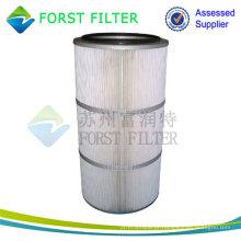 FORST Hot Sell plissado Compressor de ar Filtro de fabricação de cartuchos