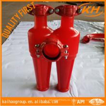Sistema de control de sólidos de hidrocarburos desecador de hidrociclones de 10 pulgadas