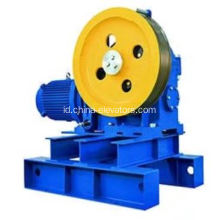 17CT Geared Traction Machine untuk Elevator OTIS