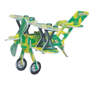 Educational Airplane EPS Puzzle