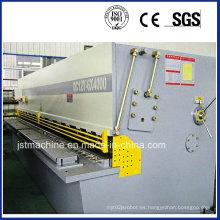 Máquina de cizalladura hidráulica de guillotina CNC (QC12Y-6X4000)