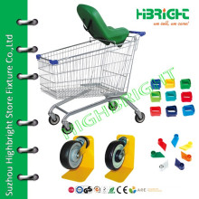 supermarket mobile hand shopping cart