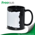 Wholesale black luminous digital photo coffee mugs