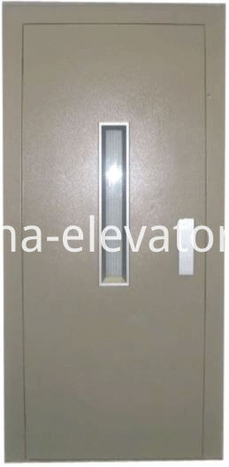 Custom Elevator Semiautomatic Door