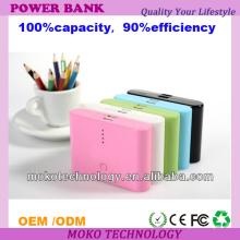 Banque mobile portative de la banque 20000mah de puissance de banque de puissance élevée d'USB pour l'iPhone 4 / Samsung / Nokia / Ipad