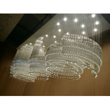 2015 New Design Hotel Crystal Ceiling Lamp
