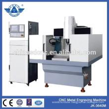Mini cnc router JK-3640 metal engraving machine/ for making metal stamp