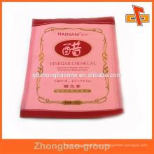 Bunte Druck 3 Seitenabdichtung Gesichtsmaske Kunststoff Packung Tasche für Hautpflege mit Tränenkerbe
