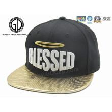 Casquillo plano de Snapback del sombrero de béisbol de Hip-Hop de la nueva de la moda del estilo de la alta calidad 2016 con el bordado de encargo