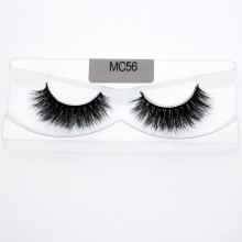 Wholesale 3D 5D 25mm Mink Lashes Extensions Silk Eyelashes with Custom Box Logo for Makeup
