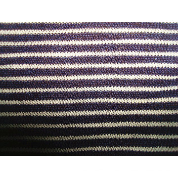 Jersey única de rayas coloridas