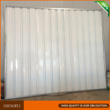 China Solid Corrugated Steel Privacy Fence