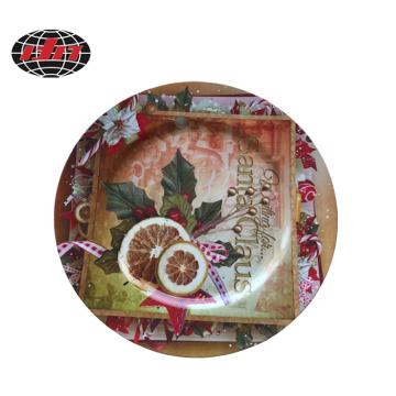 Christmas Plastic Charger Plate