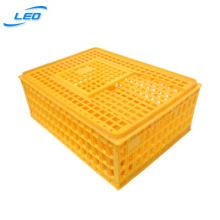 Plastic chicken transport cage crate plastic chicken box